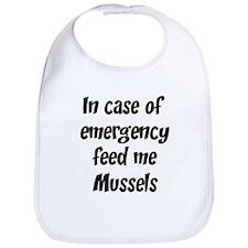 Feed me Mussels Bib
