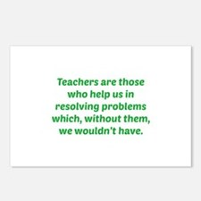 Teachers Are Those Who Help Us In Postcards (Packa