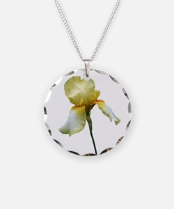 Yellow Snapdragon Necklace