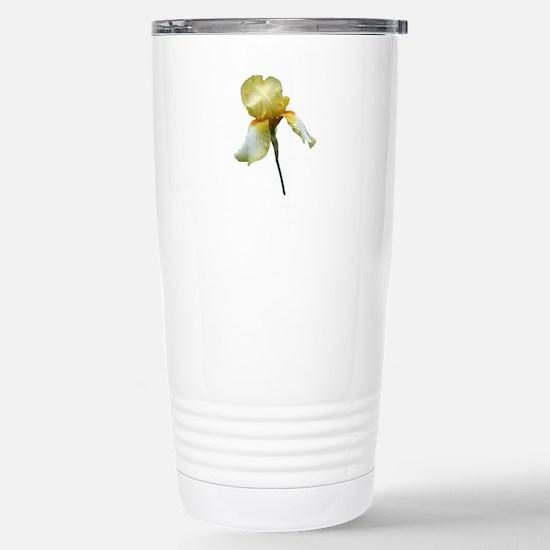 Yellow Snapdragon Travel Mug