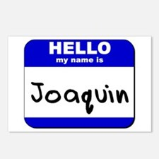 hello my name is joaquin  Postcards (Package of 8)