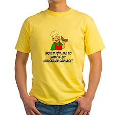 Sample Hungarian Sausage T-Shirt
