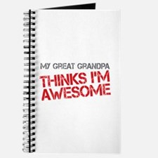 Great Grandpa Awesome Journal