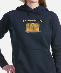 Powered By Pancakes Hooded Sweatshirt