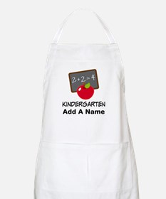 Personalized Kindergarten Apron