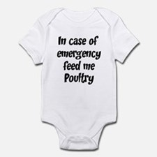 Feed me Poultry Infant Bodysuit
