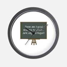 There Are 3 Good Reasons To Teach Wall Clock