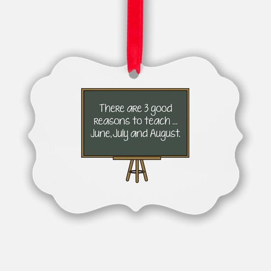 There Are 3 Good Reasons To Teach Ornament