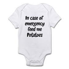 Feed me Potatoes Infant Bodysuit