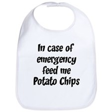Feed me Potato Chips Bib