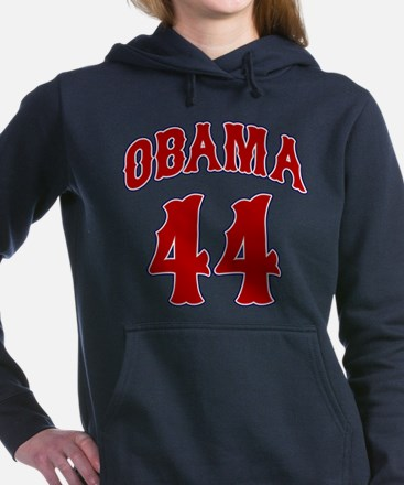 obama44tuscanblu2.png Hooded Sweatshirt