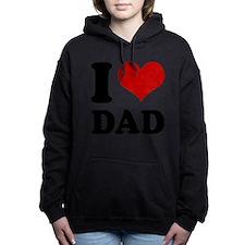 ILOVEDADTSHIRT.png Hooded Sweatshirt