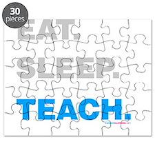 Eat Sleep Teach Puzzle