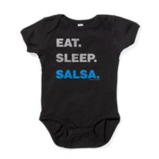 Eat Sleep Salsa Baby Bodysuit