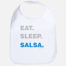 Eat Sleep Salsa Bib
