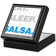 Eat Sleep Salsa Keepsake Box
