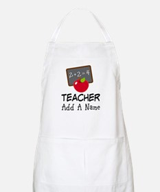 Personalized Teacher Gift Apron