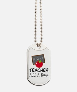 Personalized Teacher Gift Dog Tags