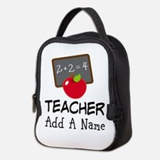 Personalized Teacher Gift Neoprene Lunch Bag