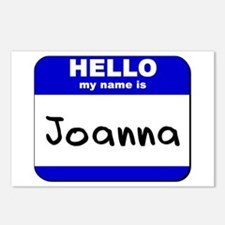 hello my name is joanna  Postcards (Package of 8)