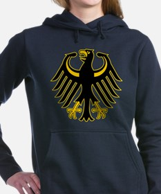 Retro German Eagle Yellow.png Hooded Sweatshirt