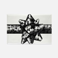 Cat Bow Rectangle Magnet (100 pack)
