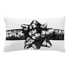 Cat Bow Pillow Case