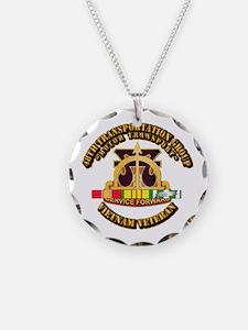 48th Transportation Group w SVC Ribbon Necklace