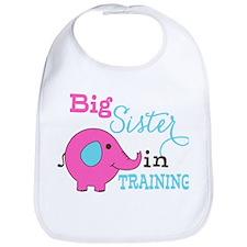 Big Sister in Training Elephant Bib