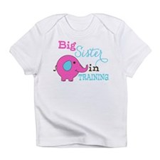 Big Sister in Training Elephant Infant T-Shirt
