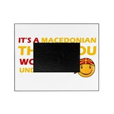 Macedonian smiley designs Picture Frame