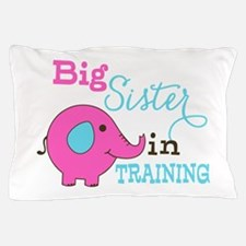 Big Sister in Training Elephant Pillow Case