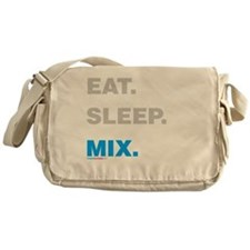 Eat Sleep Mix Messenger Bag