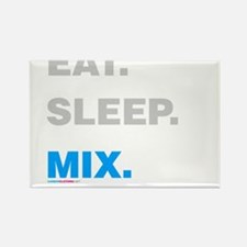 Eat Sleep Mix Rectangle Magnet