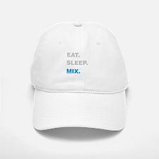 Eat Sleep Mix Baseball Baseball Cap