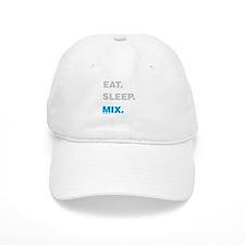 Eat Sleep Mix Baseball Cap