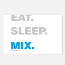 Eat Sleep Mix Postcards (Package of 8)