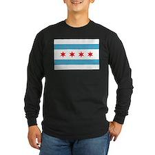 chicagoflag Long Sleeve T-Shirt