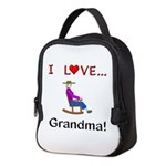 I Love Grandma Neoprene Lunch Bag