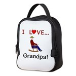 I Love Grandpa Neoprene Lunch Bag