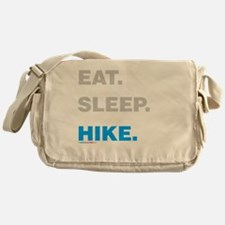 Eat Sleep Hike Messenger Bag