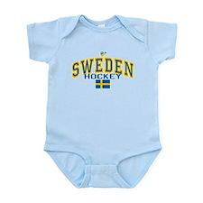 Sweden Hockey/Sverige Ishockey Infant Bodysuit