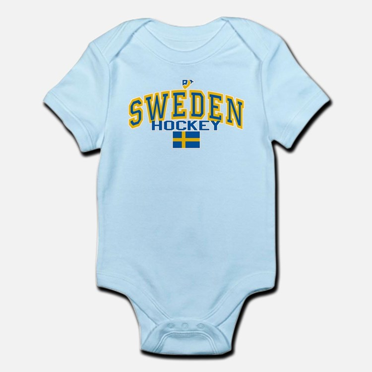 Sweden Hockey/Sverige Ishockey Infant Bodysuit