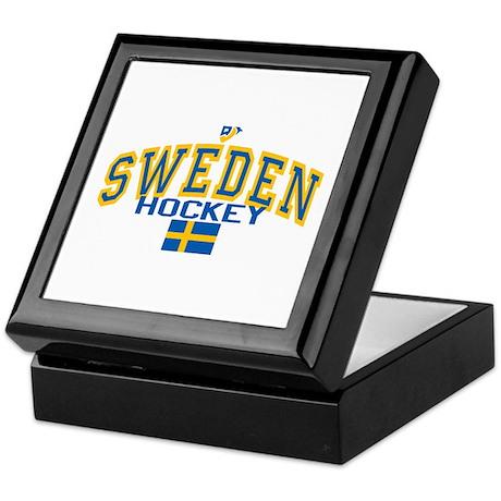 Sweden Hockey/Sverige Ishockey Keepsake Box