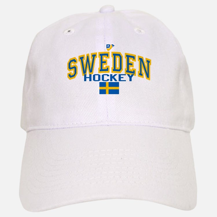 Sweden Hockey/Sverige Ishockey Baseball Baseball Cap