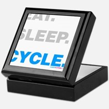 Eat Sleep Cycle Keepsake Box