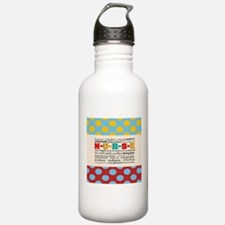 Nurse Positive Pillow CP Water Bottle