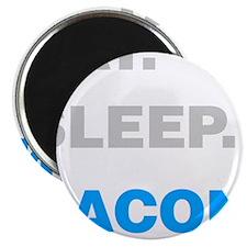 "Eat Sleep Bacon 2.25"" Magnet (100 pack)"