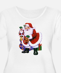Santa 1 Plus Size T-Shirt