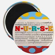 Nurse Positive Pillow CP Magnets